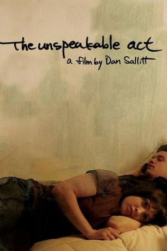 The Unspeakable Act Poster