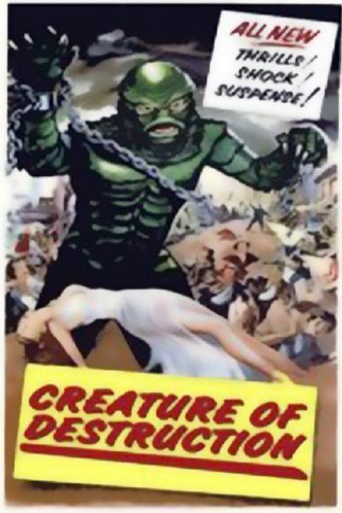 Creature of Destruction Poster