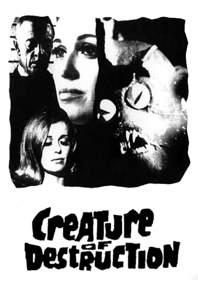 Creature of Destruction Poster