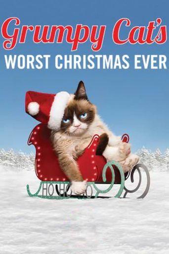 Grumpy Cat's Worst Christmas Ever Poster