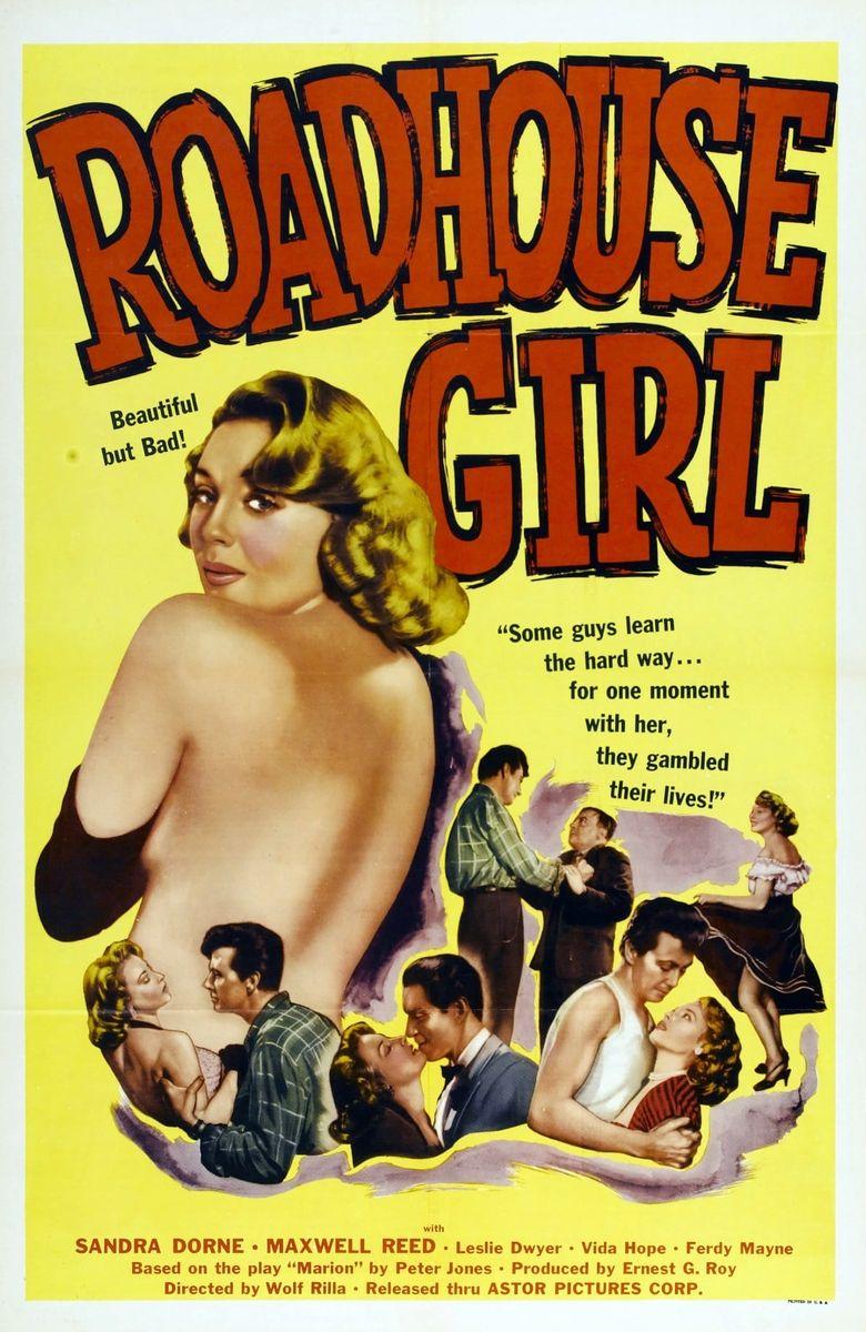 Roadhouse Girl Poster