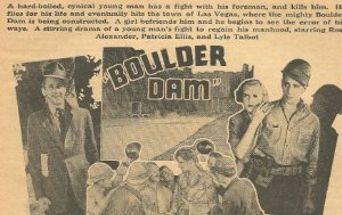 Boulder Dam Poster