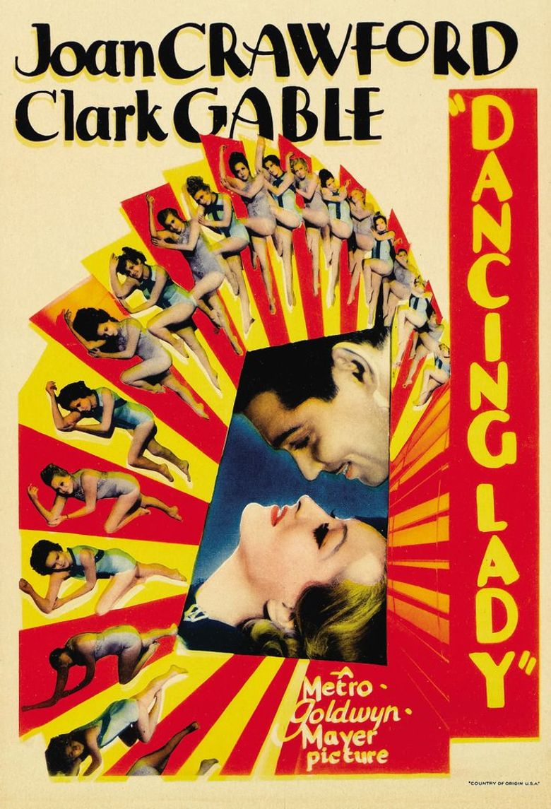 Dancing Lady Poster