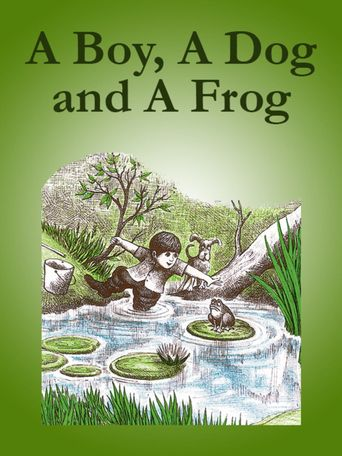 A Boy, a Dog, and a Frog Poster