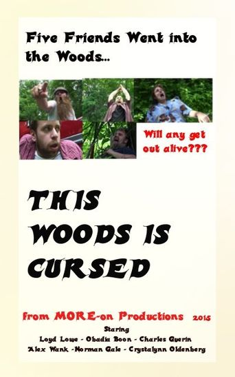 This Woods Is Cursed Poster