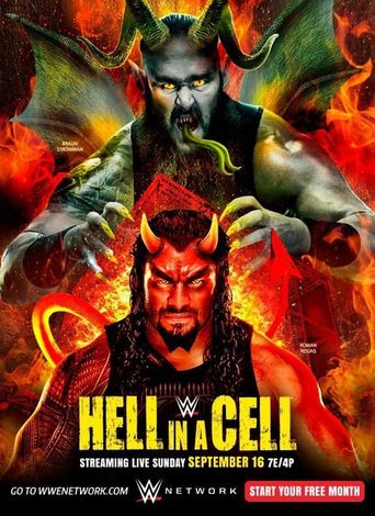 WWE Hell in a Cell 2018 Poster