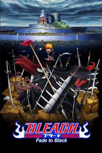Bleach: Fade to Black Poster