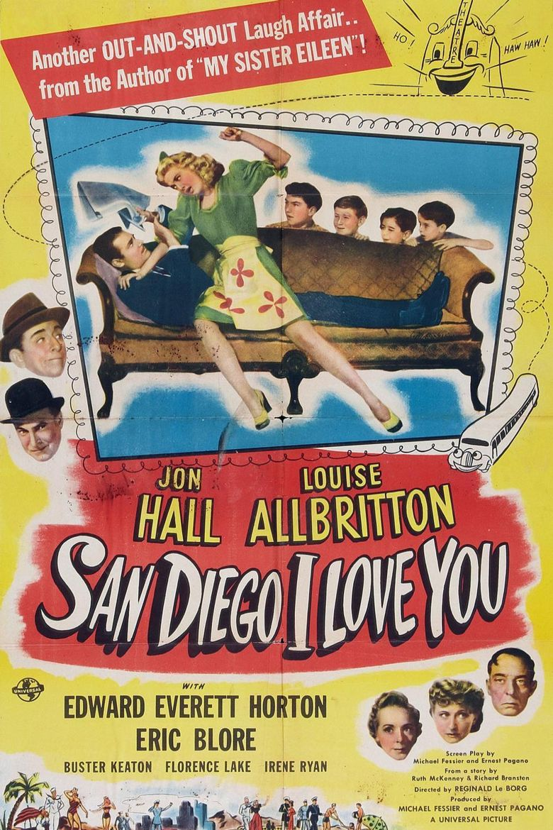 San Diego I Love You Poster