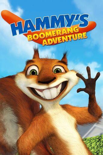 Hammy's Boomerang Adventure Poster