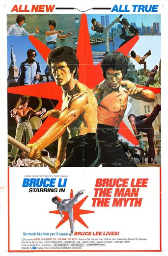 Bruce Lee: The Man, The Myth Poster