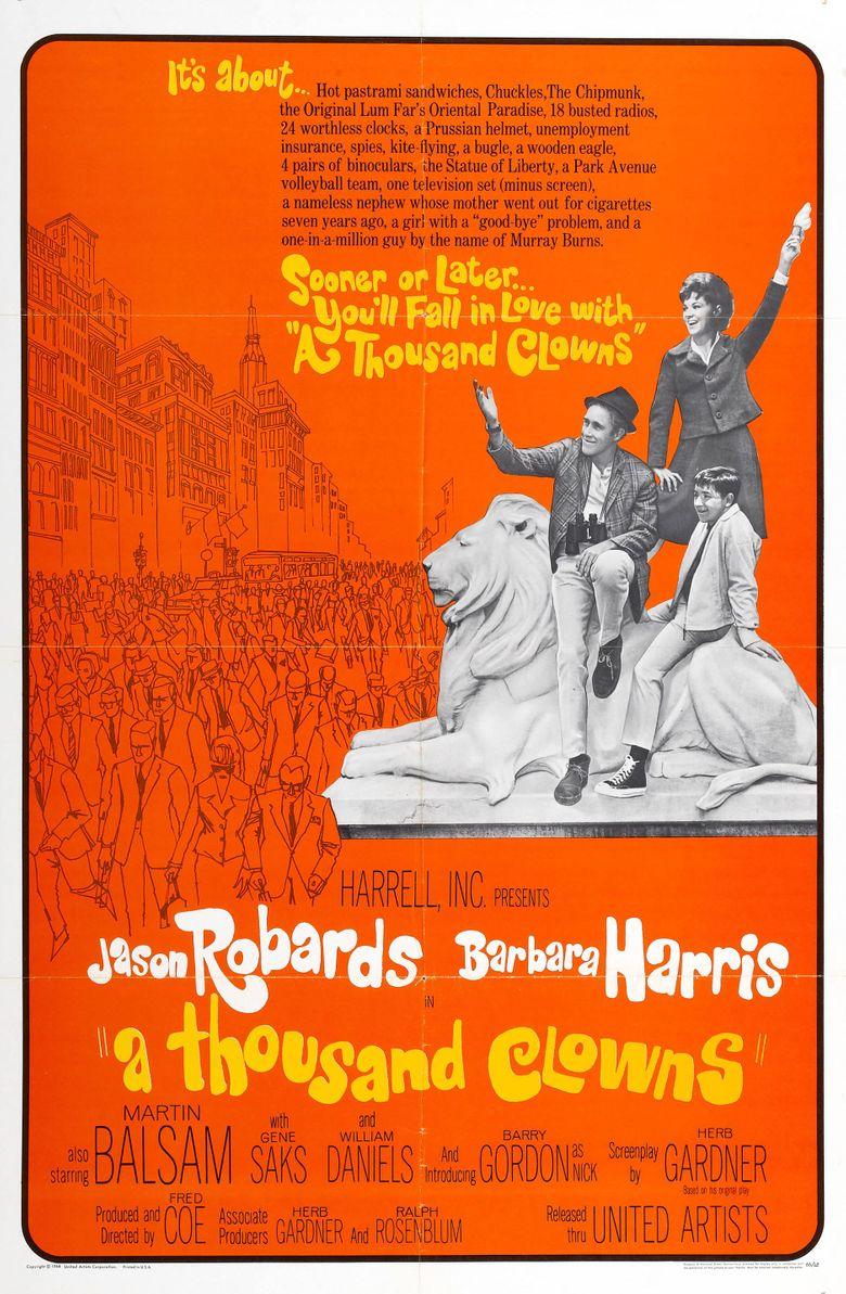 A Thousand Clowns Poster
