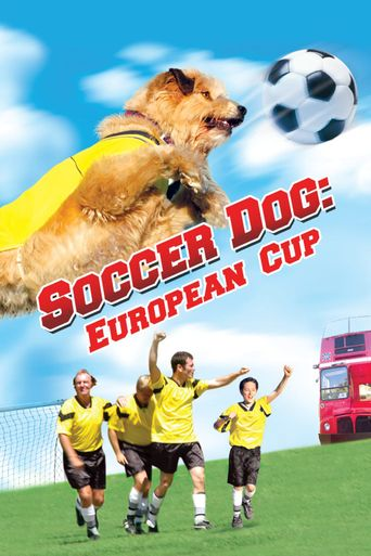 Soccer Dog 2: European Cup Poster