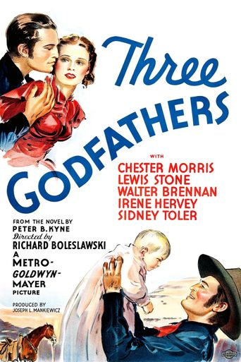 Three Godfathers Poster