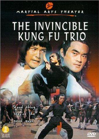 The Invincible Kung Fu Trio Poster