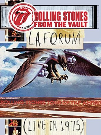The Rolling Stones: From the Vault - L.A. Forum (Live In 1975) Poster