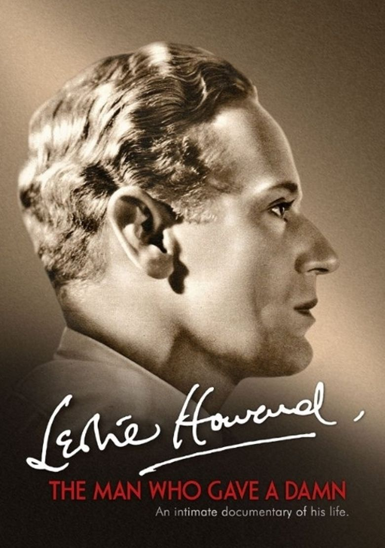 Leslie Howard: The Man Who Gave a Damn Poster