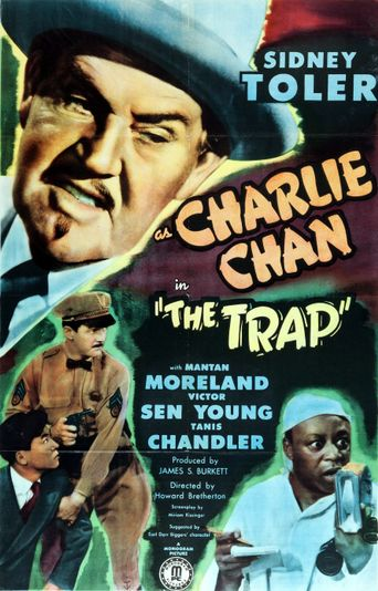 Charlie Chan in The Trap Poster