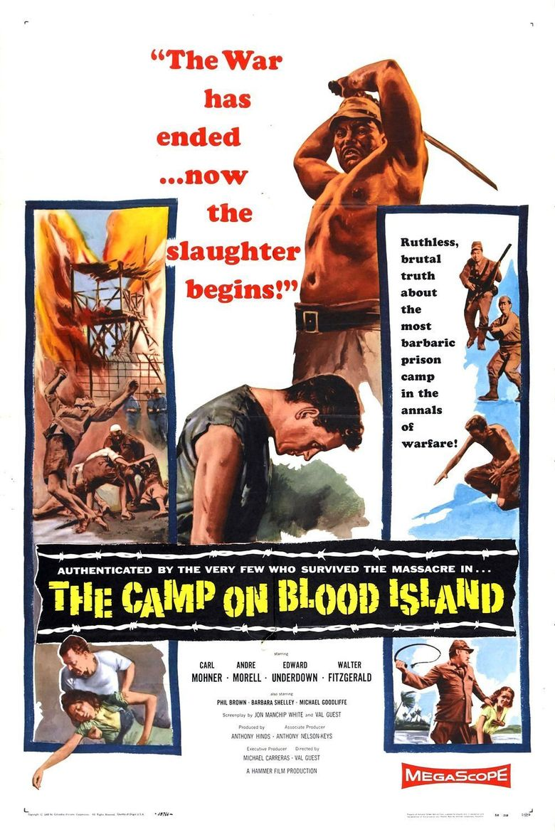The Camp on Blood Island Poster