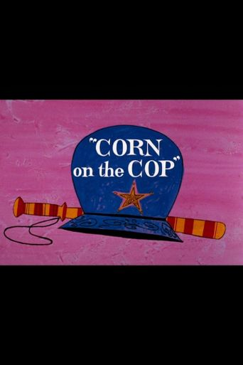 Corn on the Cop Poster