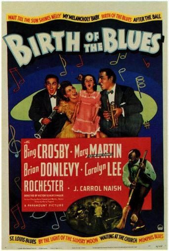 Birth of the Blues Poster