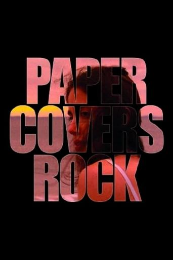 Paper Covers Rock Poster