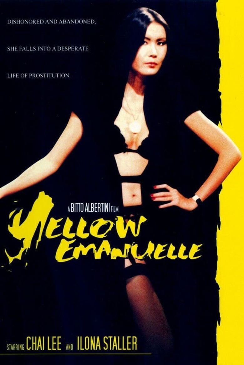 Yellow Emanuelle Poster
