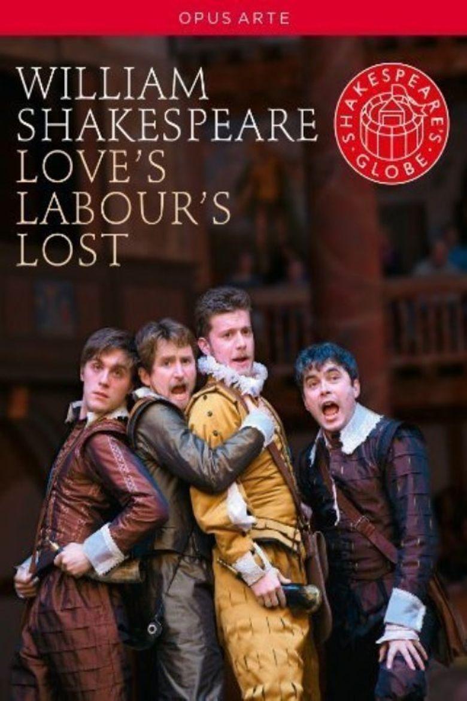 Love's Labour's Lost: Shakespeare's Globe Theatre Poster