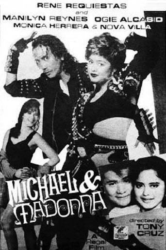 Michael and Madonna Poster