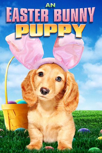 An Easter Bunny Puppy Poster