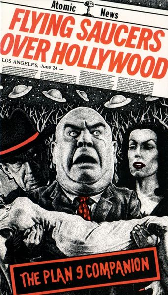 Flying Saucers Over Hollywood: The 'Plan 9' Companion Poster