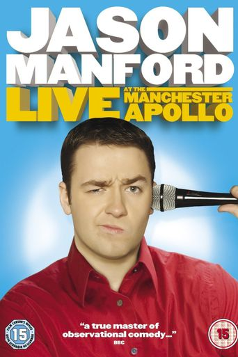 Jason Manford: Live at the Manchester Apollo Poster