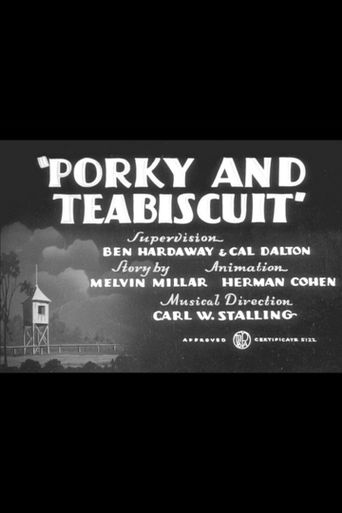 Porky and Teabiscuit Poster