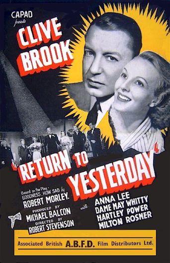 Return to Yesterday Poster