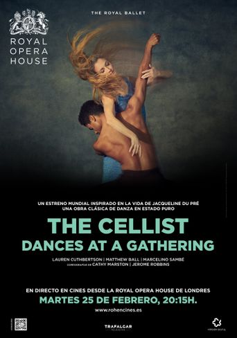 THE CELLIST & DANCES AT A GATHERING ROYAL OPERA HOUSE 2019/20 Poster