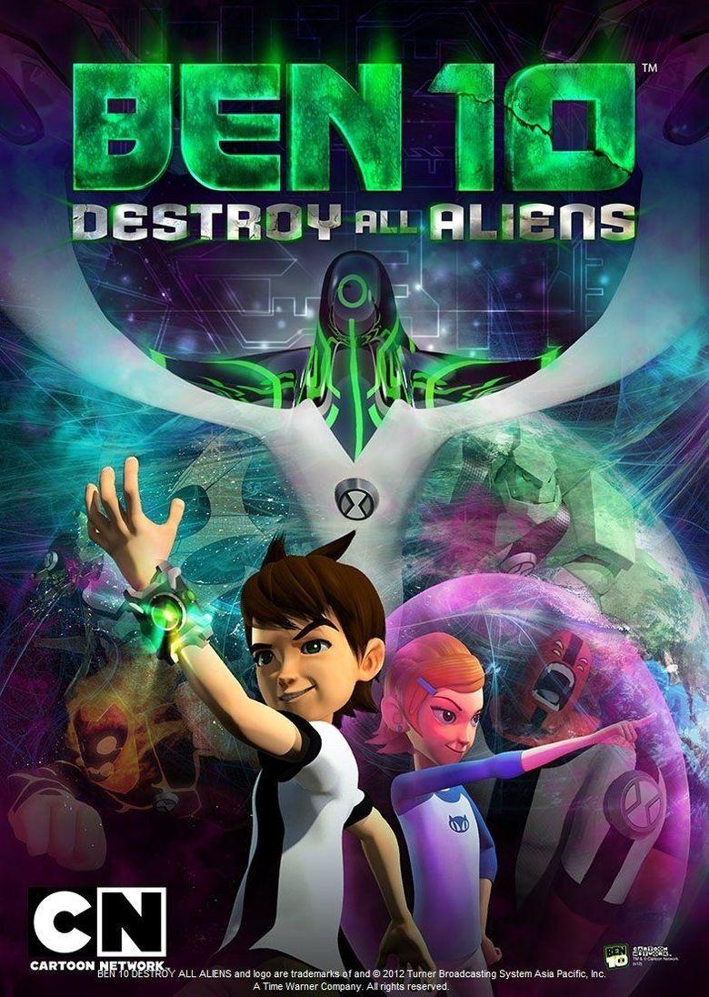 Ben 10: Destroy All Aliens Poster