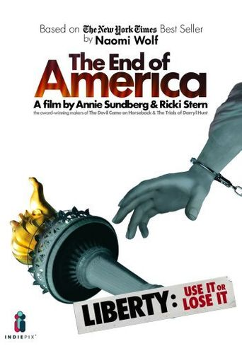 The End Of America Poster