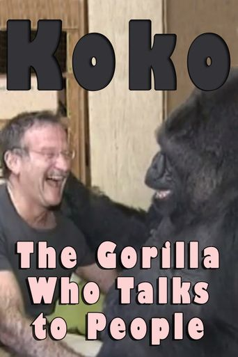 Koko: The Gorilla Who Talks to People Poster