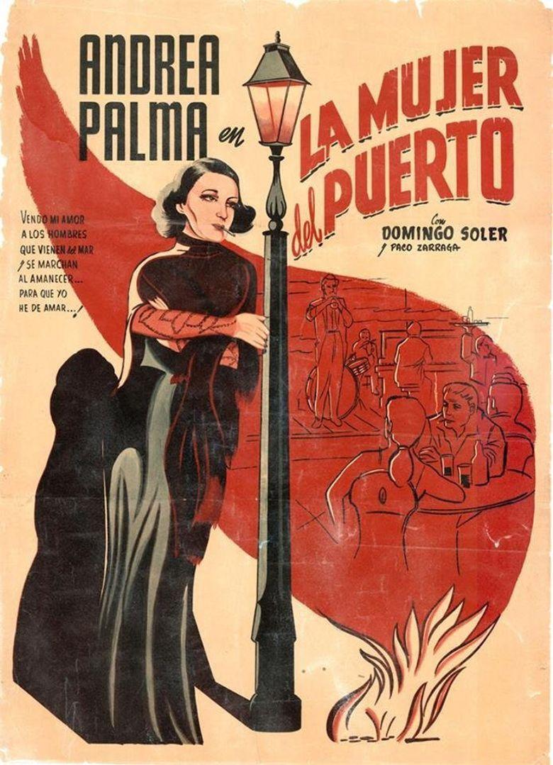 La mujer del puerto Poster