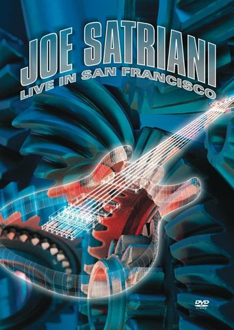 Joe Satriani: Live in San Francisco Poster