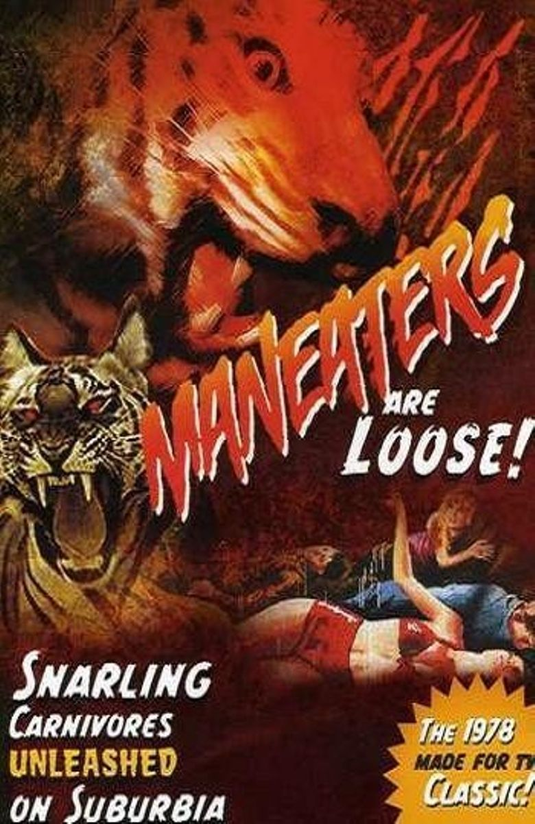 Maneaters Are Loose! Poster