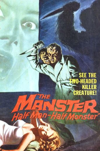 The Manster Poster