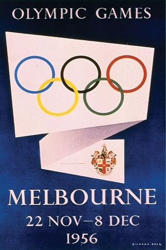 Olympic Games 1956 Poster