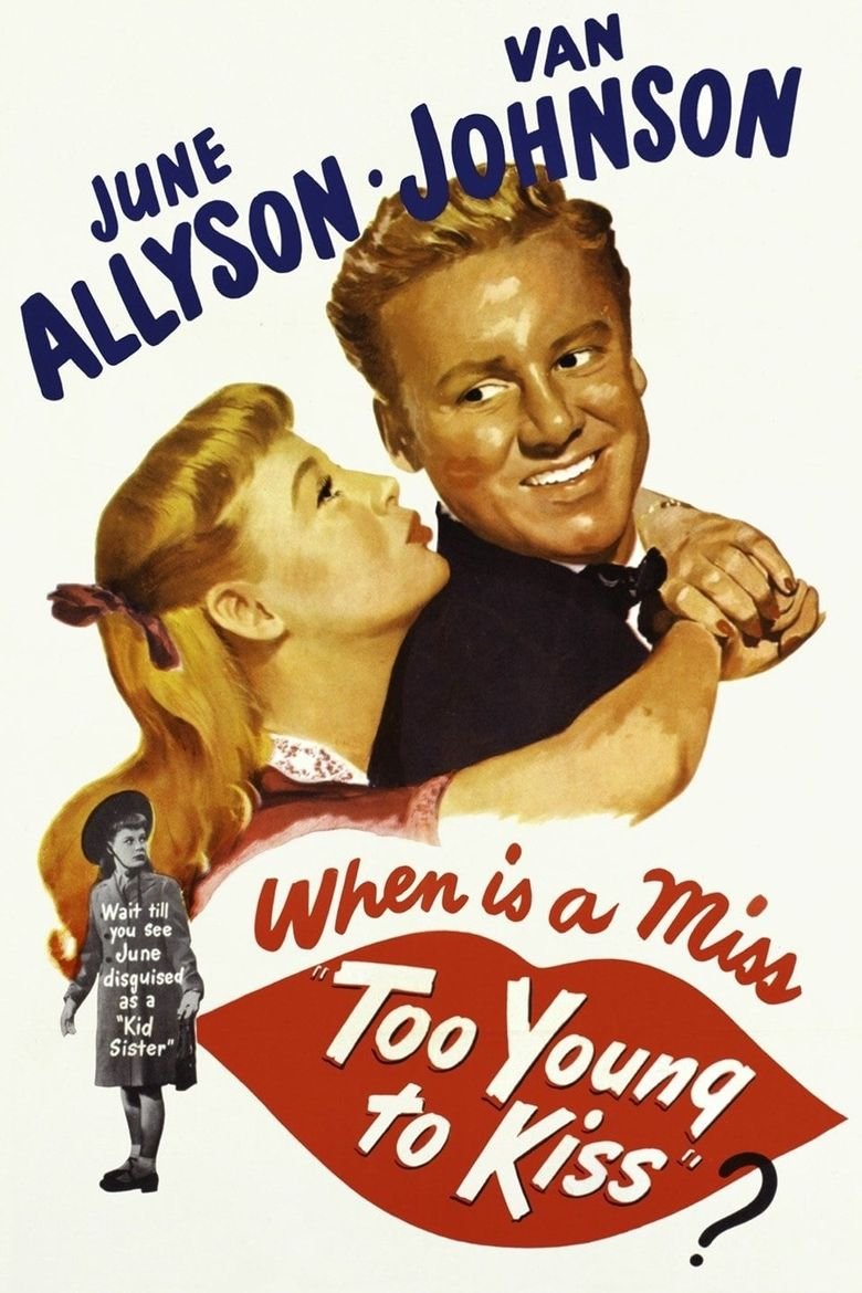 Too Young to Kiss Poster