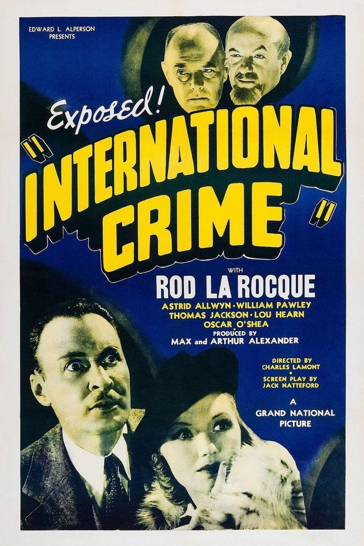 International Crime Poster