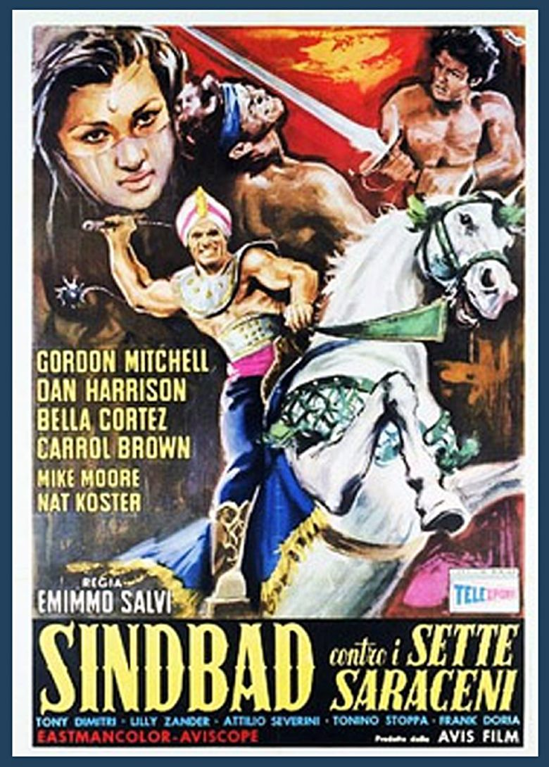 Ali Baba and the Seven Saracens Poster