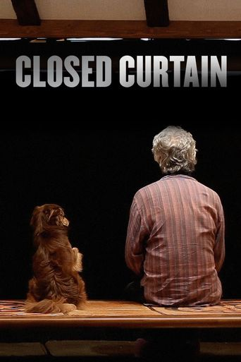 Closed Curtain Poster