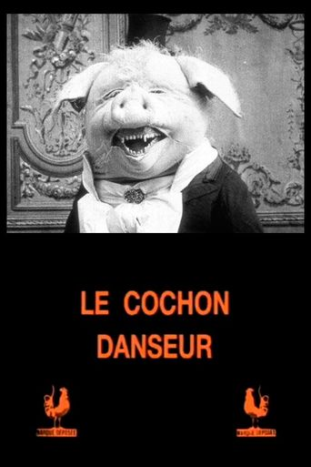 The Dancing Pig Poster