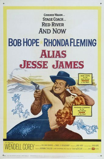 Alias Jesse James Poster