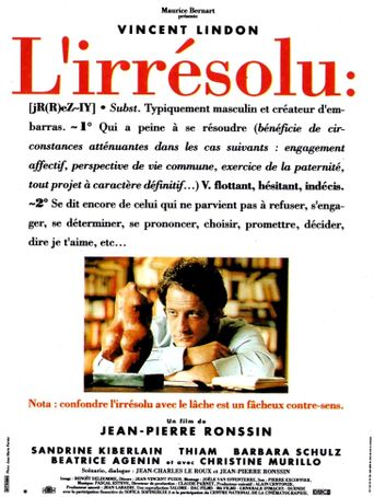 L'irrésolu Poster