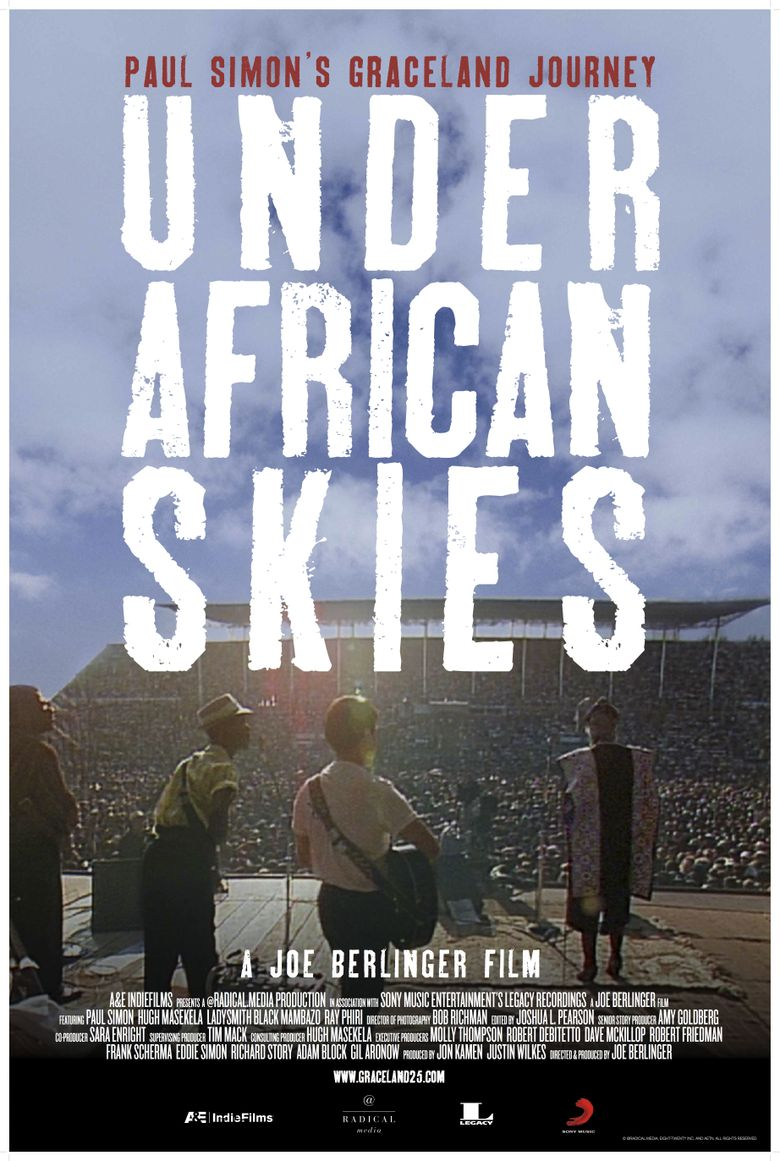 Under African Skies Poster